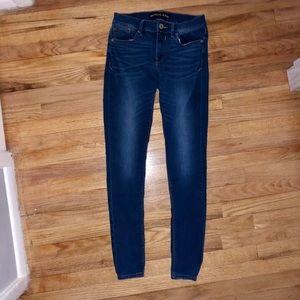 Express Midrise Legging Jeans